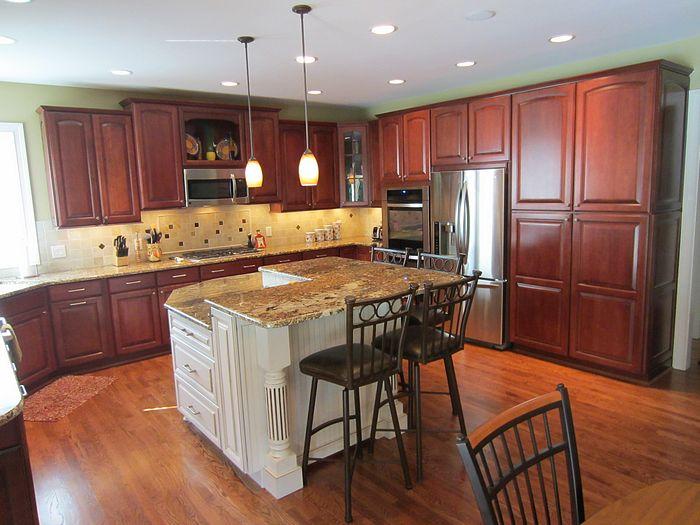 Kitchen Island 2 Levels prestige: 7229 loveland kitchen